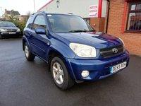 2005 TOYOTA RAV4 2.0 VVT-I XT-R 3d £1500.00