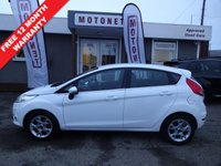 USED 2012 12 FORD FIESTA 1.4 ZETEC TDCI 5DR DIESEL 70 BHP+++£20 ROAD TAX+++ ++++BUY NOW PAY NEXT JANUARY 2019++