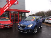 USED 2015 65 VAUXHALL MOKKA 1.6 EXCLUSIV S/S 5d 114 BHP ****12 months warranty****