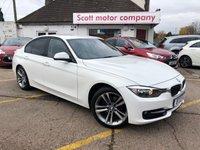 USED 2012 12 BMW 3 SERIES 2.0 318 Diesel Sport 4 door 141 BHP