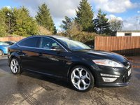 2011 FORD MONDEO 2.2 TDCi TITANIUM X SPORT 5d 200 BHP WITH HALF LEATHER HEATED FRONT SEATS £6250.00