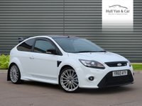 2010 FORD FOCUS 2.5 RS 3d 300 BHP £24995.00