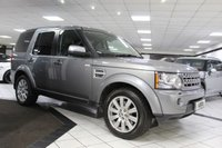2012 LAND ROVER DISCOVERY 4 3.0 SDV6 HSE AUTO 255 BHP £18425.00