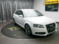 USED 2011 61 AUDI A3 2.0 TDI S LINE SPECIAL EDITION 3d 138 BHP £0 DEPOSIT FINANCE AVAILABLE, AIR CONDITIONING, AUX INPUT, BOSE SOUND SYSTEM, CLIMATE CONTROL, DAYTIME RUNNING LIGTHS, FULL S LINE LEATHER UPHOLSTERY, STEERING WHEEL CONTROLS, TRIP COMPUTER