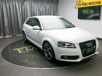 2011 AUDI A3 2.0 TDI S LINE SPECIAL EDITION 3d 138 BHP £6500.00