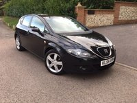 2005 SEAT LEON 2.0 SPORT TDI 5d 138 BHP PART EX TO CLEAR PLEASE CALL TO VIEW £1950.00