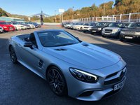 USED 2016 16 MERCEDES-BENZ SL 3.0 SL 400 AMG LINE 2d AUTO 362 BHP Cost £83,325 with only 5,000 miles by lady owner. New model