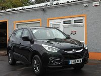 USED 2014 14 HYUNDAI IX35 1.7 S CRDI 5d 114 BHP 6 Service stamps - Air conditioning - Hill  start assist - Aux & USB