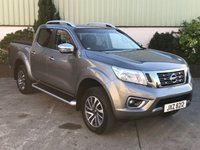 USED 2016 NISSAN NAVARA 2.3 DCI TEKNA 4X4 SHR DCB 1d 190 BHP LOW MILES, LEATHER, ALLOYS, REAR COVER, REVERSE CAMERA, SAT NAV