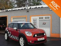 USED 2013 13 MINI COUNTRYMAN 1.6 COOPER S ALL4 5d 184 BHP Bluetooth - Parking sensors - Cruise control - Voice control -