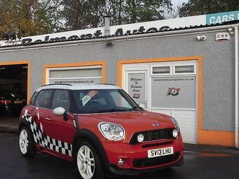 2013 MINI COUNTRYMAN 1.6 COOPER S ALL4 5d 184 BHP £10299.00