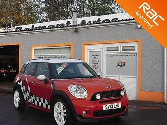 2013 MINI COUNTRYMAN 1.6 COOPER S ALL4 5d 184 BHP £9999.00