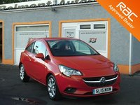 USED 2015 15 VAUXHALL CORSA 1.4 EXCITE AC ECOFLEX 3d 89 BHP Touch Screen monitor - Heated seats - Heated steering wheel -Bluetooth