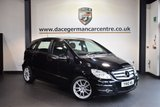 USED 2010 10 MERCEDES-BENZ B CLASS 1.5 B160 BLUEEFFICIENCY SPORT 5DR 95 BHP KOSMO METALLIC BLACK WITH HALF BLACK LEATHER INTERIOR + EXCELLENT SERVICE HISTORY - 6 SERVICES + BLUETOOTH + SPORT PACKAGE + RAIN SENSORS + AIR CONDITIONING + 17 INCH ALLOY WHEELS