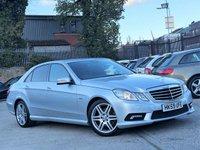 2010 MERCEDES-BENZ E CLASS 2.1 E250 CDI BLUEEFFICIENCY SPORT 4d 204 BHP £8788.00