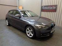 2013 BMW 1 SERIES 1.6 114I SPORT 3d 101 BHP £8495.00