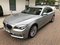 2013 BMW 7 SERIES 3.0 730LD SE 4d AUTO 255 BHP £11290.00