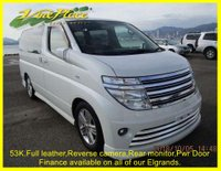 2003 NISSAN ELGRAND Rider 3.5 Auto 8 Seats, Leather, Reverse Camera, Power Door £6500.00