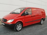 2009 MERCEDES-BENZ VITO 2.1 109 CDI LONG SWB 1d 95 BHP £SOLD