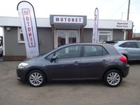 USED 2009 09 TOYOTA AURIS 1.4 VVT-I LIMITED EDITION 5DR HATCHBACK 100 BHP ++++BUY NOW PAY NEXT JANUARY 2019++