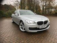 2013 BMW 7 SERIES 3.0 730D M SPORT 4d AUTO 255 BHP £15995.00