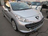 2008 PEUGEOT 207 1.6 GT COUPE CABRIOLET 2d 148 BHP £2795.00