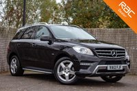 USED 2012 MERCEDES-BENZ M CLASS 3.0 ML350 BLUETEC SPORT 5d AUTO 258 BHP £0 DEPOSIT BUY NOW PAY LATER - FULL MERC S/H - NAVIGATION