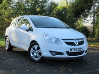 USED 2010 60 VAUXHALL CORSA 1.2 ENERGY 3d **SPORTY LOOKING HATCHBACK**