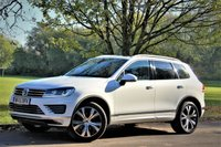 USED 2015 15 VOLKSWAGEN TOUAREG 3.0 V6 R-LINE TDI BLUEMOTION TECHNOLOGY 5d AUTO 202 BHP