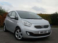USED 2011 11 KIA VENGA 1.4 CRDI 3 ECODYNAMICS 5d FULL SERVICE HISTORY * MOT TIL AUGUST 2019 * ONE OWNER FROM NEW