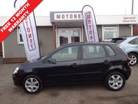 USED 2008 08 VOLKSWAGEN POLO 1.4 MATCH 5DR AUTOMATIC 80 BHP ++++BUY NOW PAY NEXT JANUARY 2019++