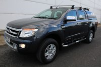 2014 FORD RANGER 2.2 LIMITED 4X4 DCB TDCI 1d AUTO 148 BHP