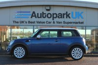 USED 2012 12 MINI HATCH COOPER 1.6 COOPER 3d 122 BHP LOW DEPOSIT OR NO DEPOSIT FINANCE AVAILABLE