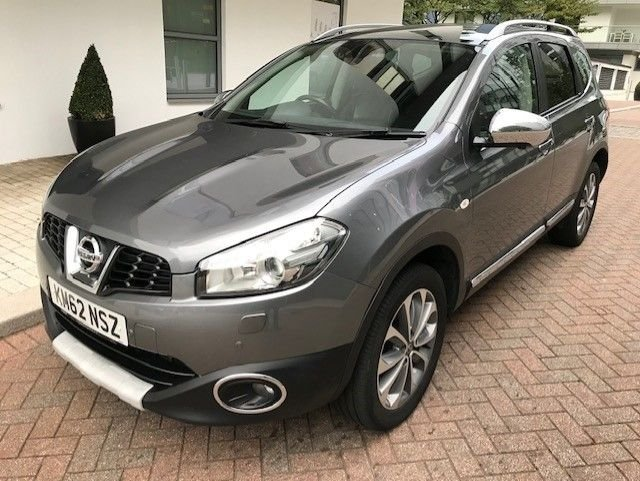 2012 62 NISSAN QASHQAI+2 1.6 TEKNA IS PLUS 2 DCIS/S 5d 130 BHP