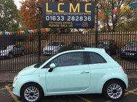 2014 FIAT 500 1.2 LOUNGE 3d 69 BHP £5799.00