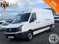 USED 2013 13 VOLKSWAGEN CRAFTER 2.0 CR35 TDI LWB HIGH ROOF LWB, ONLY ONE PREVIOUS OWNER, PLY LINED, BULK HEAD