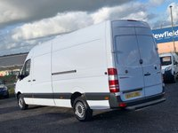 USED 2013 13 MERCEDES-BENZ SPRINTER 2.1 313 CDI LWB HIGH ROOF LWB, 3 SEATER, TIDY VAN, PLY LINED, BLUETOOTH, CRUISE