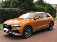 USED 2020 69 AUDI Q8 3.0 TDI 50 S line SUV quattro Tiptronic (s/s) 5dr DELIVERY MILES £15K OF EXTARS