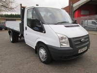 2013 FORD TRANSIT 350 Single Cab One Stop Alloy Tipper 125 PS *NO VAT* £SOLD