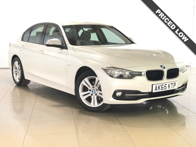 View our 2015 65 BMW 3 SERIES 2.0 316D SPORT 4d 114 BHP