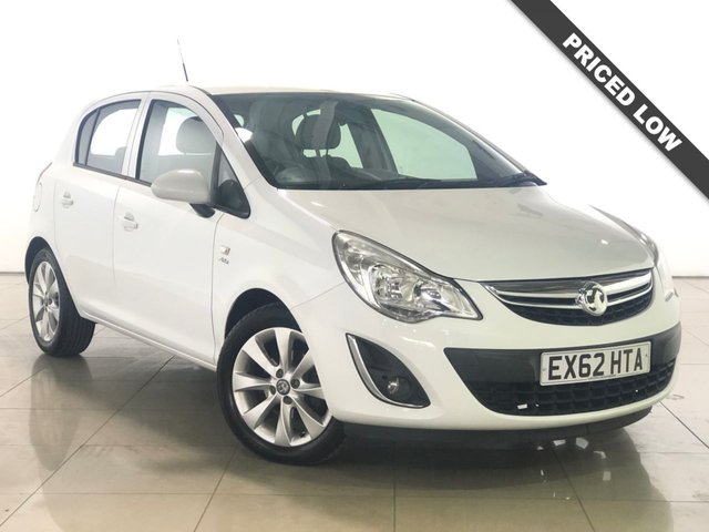 View our 2012 62 VAUXHALL CORSA 1.2 ACTIVE AC 5d 83 BHP