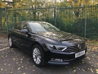 2018 VOLKSWAGEN PASSAT 2.0 SE BUSINESS TDI BLUEMOTION TECHNOLOGY 4d 148 BHP £17495.00