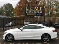 """USED 2016 16 MERCEDES-BENZ C CLASS 2.1 C 250 D AMG LINE PREMIUM PLUS 2d AUTO 201 BHP STUNNING POLAR WHITE PAINTWORK WITH FULL BLACK ARTICO LEATHER UPHOLSTERY. ONE OWNER WITH VERY LOW MILEAGE. PREMIUM PLUS PACKAGE. PANORAMIC GLASS ROOF. BLACK ASH WOOD TRIM. SATELLITE NAVIGATION. 18"""" TITANIUM ALLOY WHEELS. AIR CONDITIONING. CRUISE CONTROL. PLEASE GOTO www.lowcostmotorcompany.co.uk TO VIEW OVER 120 CARS IN STOCK, SOME OF THE CHEAPEST ON AUTOTRADER."""
