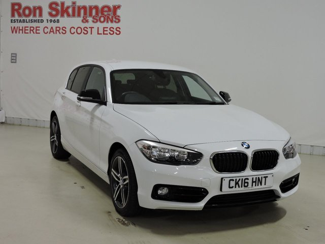 View our 2016 16 BMW 1 SERIES (117) 2.0 118D SPORT 5d 147 BHP