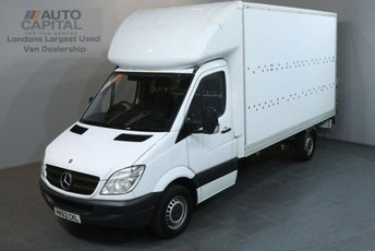 2013 MERCEDES-BENZ SPRINTER 2.1 313 CDI LWB 129 BHP REAR LIFT LUTON VAN £10990.00