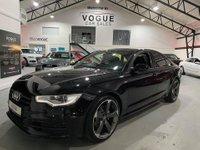 2013 AUDI A6 2.0 TDI S LINE BLACK EDITION 4d 175 BHP £12495.00