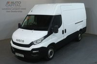 USED 2015 65 IVECO DAILY 2.3 35S13V 126 BHP L2 MWB H/ROOF PANEL VAN ONE OWNER FULL S/H SPARE KEY