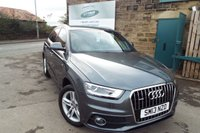 USED 2013 13 AUDI Q3 2.0 TDI QUATTRO S LINE 5d 138 BHP One Former Owner ONLY 34,000 Miles