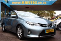 2014 TOYOTA AURIS 1.4 ICON D-4D 5dr ESTATE 89 BHP £6595.00