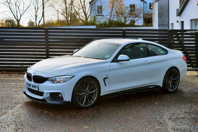 2015 65 BMW 4 SERIES 2.0 420D M SPORT 2d AUTO 188 BHP LCI